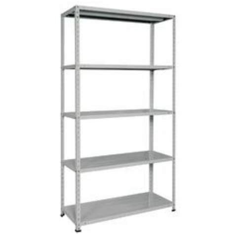 scaffali di metallo scaffale metallo in kit 100 x 40 198 5 piani grigio