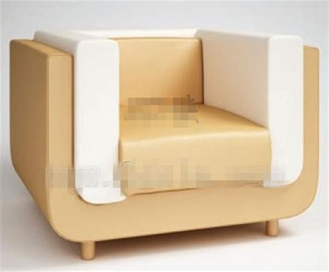 white single sofa modern style white single sofa 3d model download free 3d