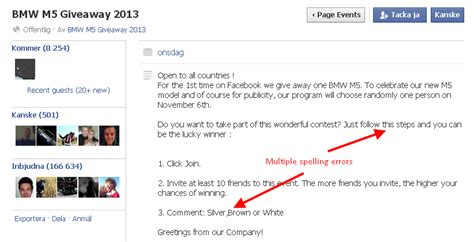 Fake Giveaways On Facebook - how to spot a fake giveaway on facebook media culpa