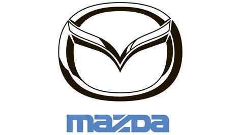 mazda car emblem mazda logo mazda zeichen vektor bedeutendes logo und