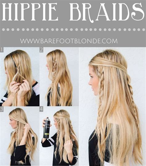 easy hairstyles for school step by step braids easy hippie braids hairstyle for school my hairstyle