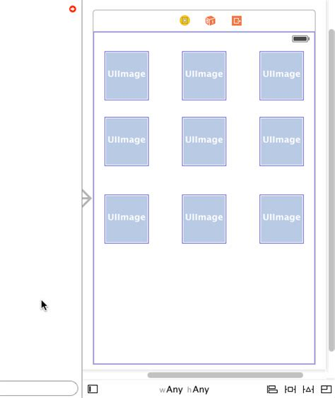 auto layout height programmatically ios creating a 3x3 grid with auto layout constraints