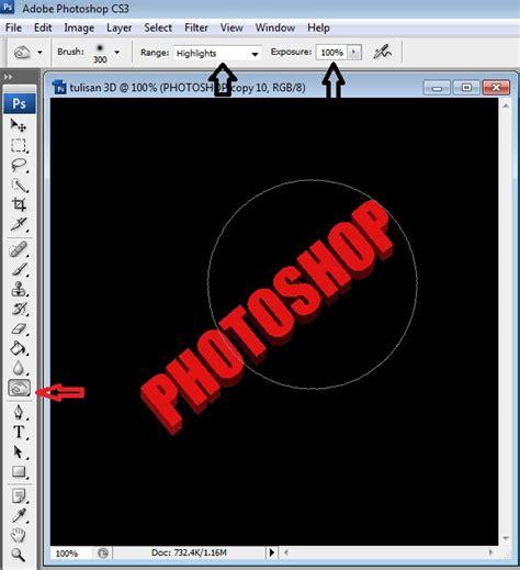 tutorial membuat gambar 3d menggunakan photoshop iqbalbadroezz penebar inspirasi