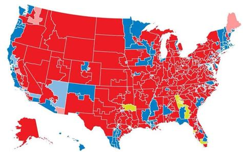 louisiana electoral map 2014 does this new political map overstate republican strength