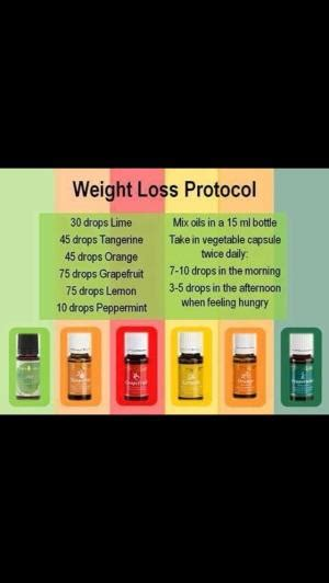 weight loss living living essential oils weight loss