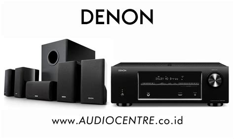 audio centre denon avr x500 sys 5 1 home theater
