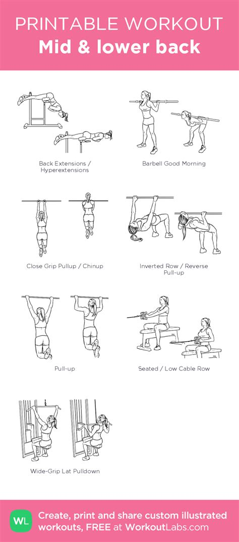 mid lower back my visual workout created at workoutlabs click through to customize and