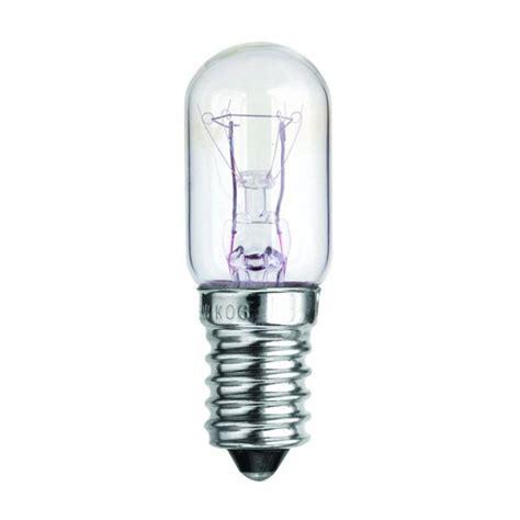 15 watt clear ses e14mm fridge bulb