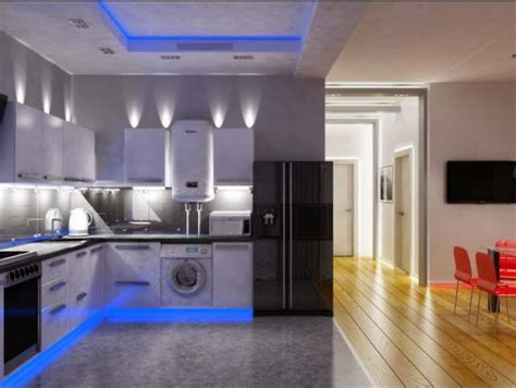 led kitchen lighting ideas 16 awesome kitchen led lighting ideas that will amaze you