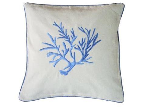 fodera per cuscino fodera per cuscino in cotone ricamo quot corallo quot cuscini