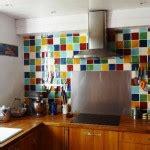 cr馘ence cuisine d馭inition fa 239 ence murale pour une cuisine couleurs carrelage mural
