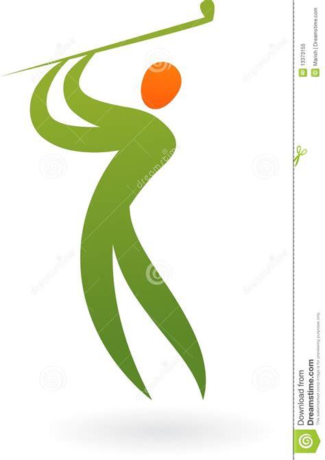 golf swing logo sport logo golf stock vector image of club chion