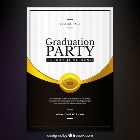 www freepik es plantillas de graduacion elegante invitaci 243 n de fiesta de graduaci 243 n descargar