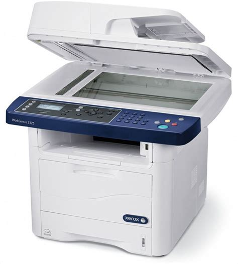 xerox workcentre 3325 monochrome laser printer copierguide