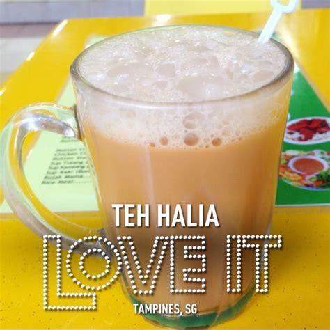 teh halia singapore food singapore food
