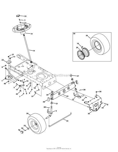 2006 wiring diagram troy bilt lawn tractor 42 wiring