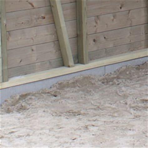tuinhuis plaatsen op tegels fundering voor o a tuinhuis houten schuur of blokhut