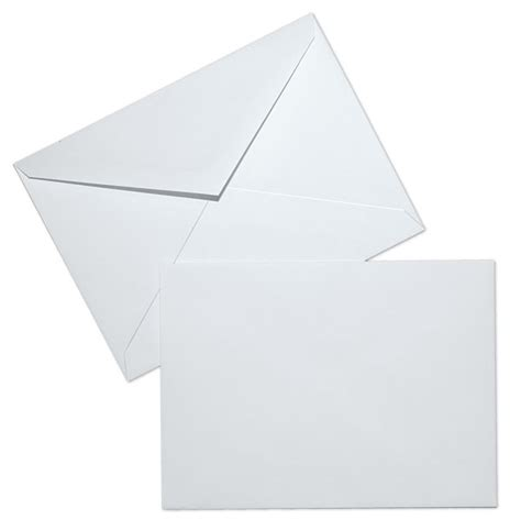 6 baronial 24lb white wove baronial envelopes paoli