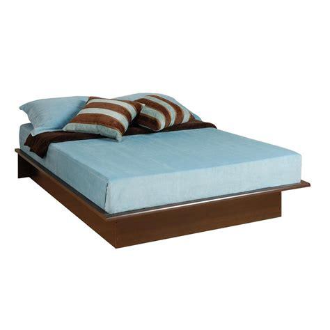 Platform Bed With Mattress Included Shop Prepac Furniture Espresso Platform Bed At Lowes