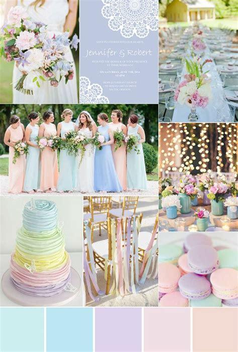 pastel wedding colors seven gorgeous garden wedding color palettes wedding