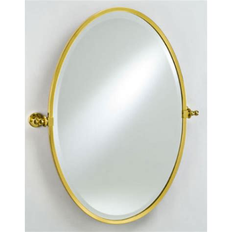 Framed Oval Mirrors For Bathrooms Bathroom Mirrors Radiance Framed Oval Bevel Wall Vanity Mirror By Afina Kitchensource