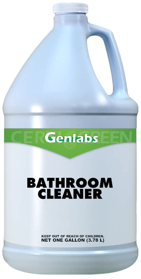 organic bathroom cleaner certi green
