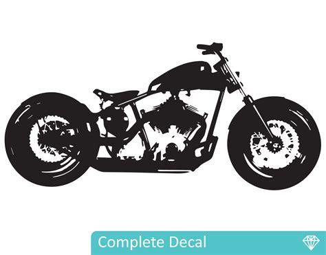 chopper motorbike your decal shop nz designer wall art