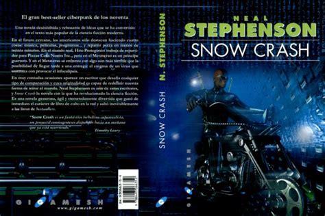 libro snow crash salabecarios snowcrash