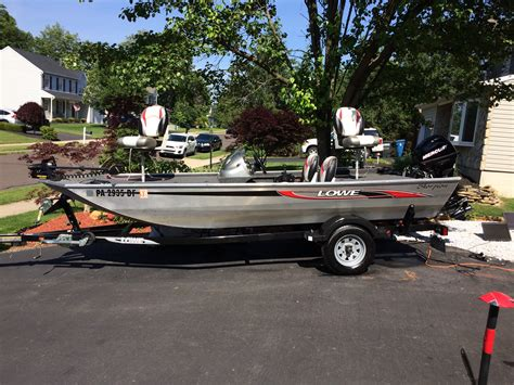 lowe boats used used lowe aluminum fish boats for sale in united states