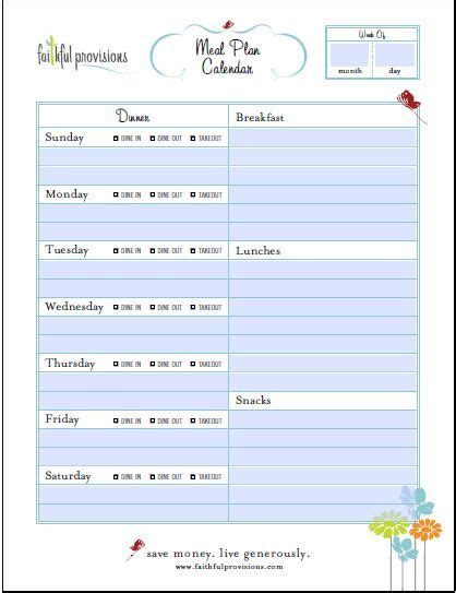 family menu planner template best 25 meal planning templates ideas on meal