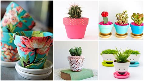 homemade flower pots ideas 20 pretty diy flower pot ideas houz buzz
