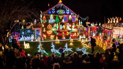 why wont my christmas lights work bristol home s 50 000 light switch on attracts hundreds news
