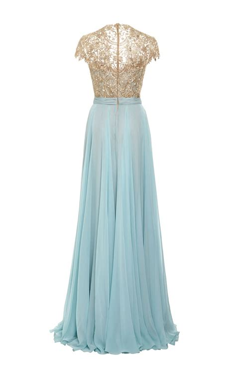chagne silk gowns 17 best ideas about chiffon gown on black