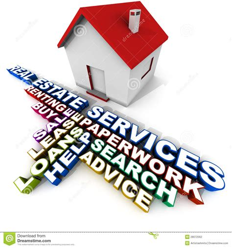 real estate services stock illustration image of home