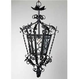 black lantern chandelier wrought iron castle lantern