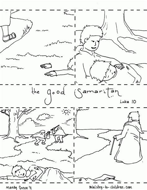 good samaritan coloring page coloring home new testament the good samaritan coloring pages coloring