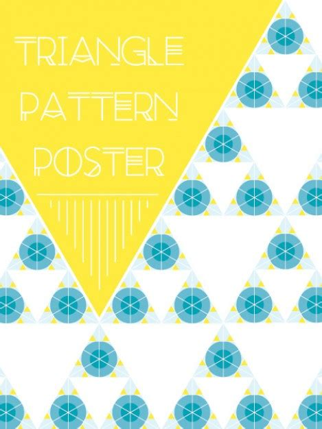 pattern triangle ai triangle pattern illustrator vector free download