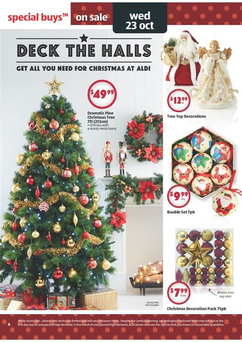 aldis christmas decorations aldi catalogue special buys week 43 2013 page 6