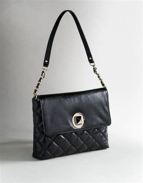 Quilted Kate Spade Handbag by Kate Spade Charlize Quilted Handbag In Black Lyst