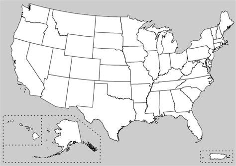 usa map showing state boundaries file map of usa showing unlabeled state boundaries png