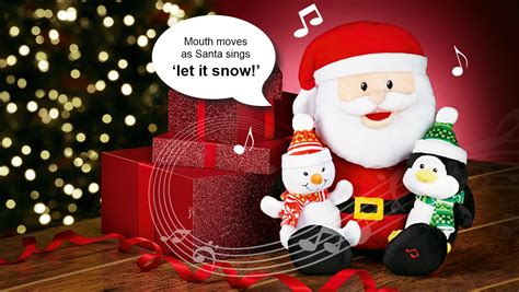 singing santa join avon
