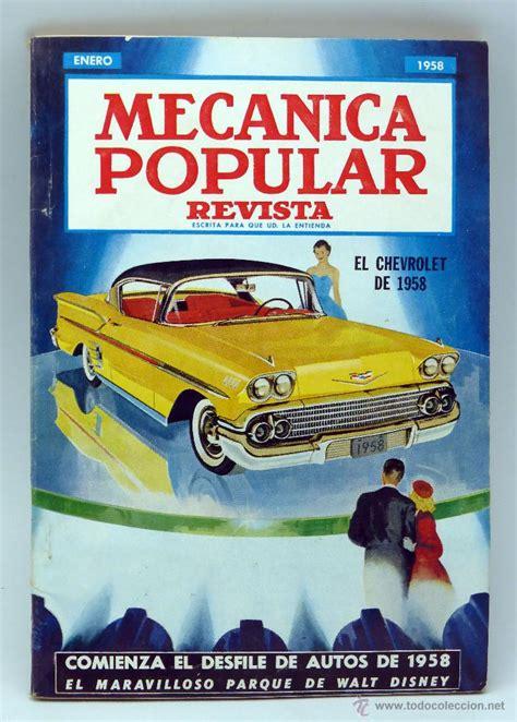 mec nica popular la revista de mec nica popular mec 225 nica popular revista n 186 1 vol 22 enero 1958 comprar