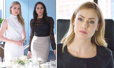 amanda schull on suits suits season 7 is amanda schull replacing meghan markle