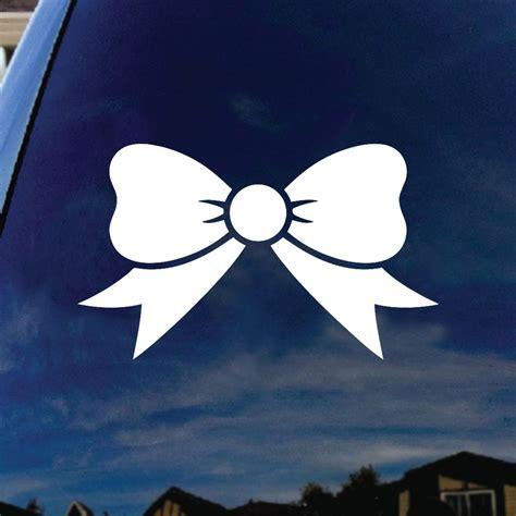 bow window decals bow tie car window vinyl decal sticker