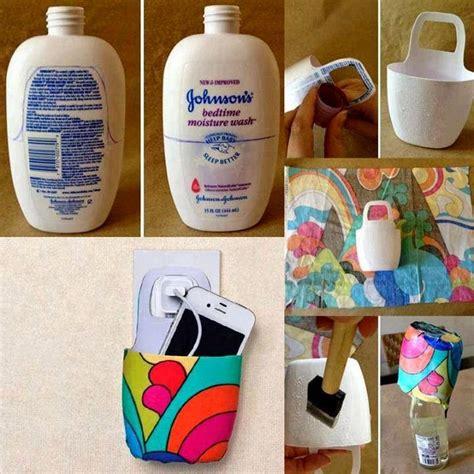 botellas de plastico construccion y manualidades hazlo tu mismo porta celular con envase pl 225 stico reciclado porta celu