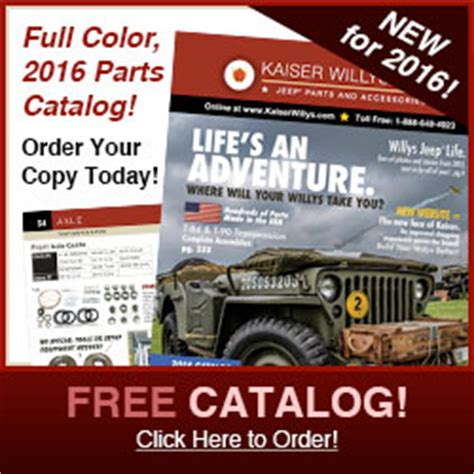 Jeep Parts Catalog A 1959 Willys 4wd Wagon