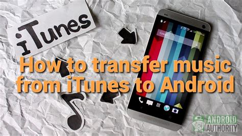 how to transfer from itunes to android