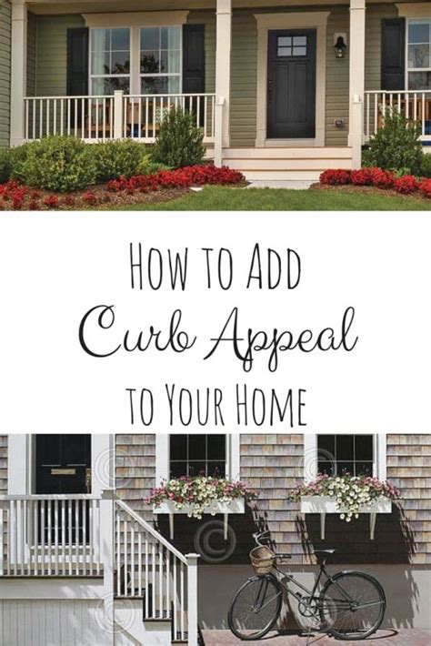 how to add curb appeal how to add curb appeal to your home