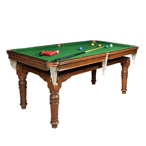 e j of accrinton snooker dining table at 1stdibs