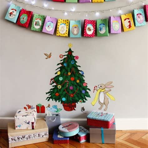 Xmas Wall Stickers quot decorate me quot xmas tree wall sticker belle amp boo